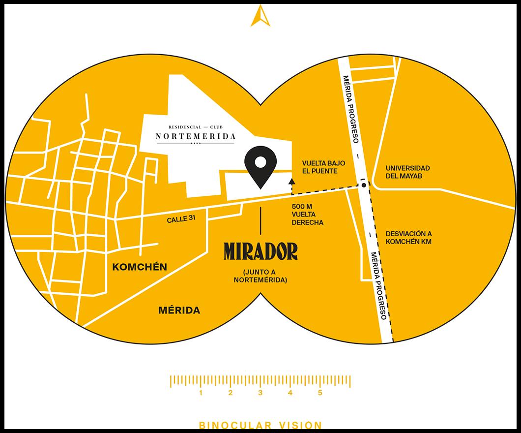 Mapa binocular vision Mirador